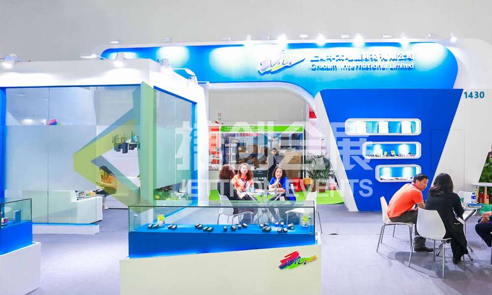 The Booth of Gradum International Limited.
