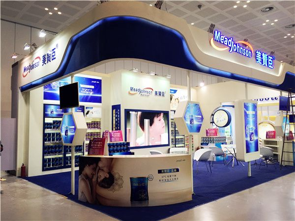 The Large Customized Booth of MeadJohnson-Jettron Events