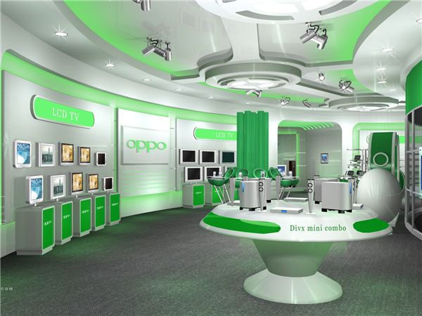 OPPO Exhibition Hall-Jettron Events